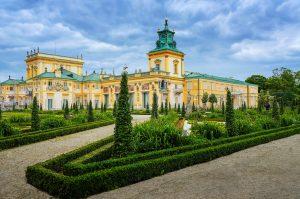 Вилянувский дворец, г. Варшава