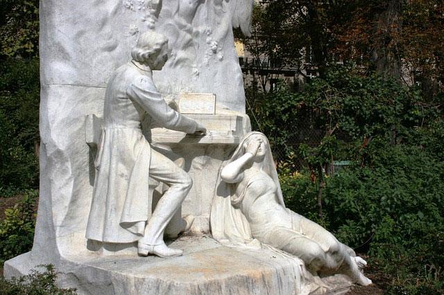 Памятник Шопену
