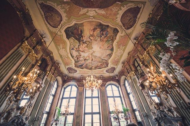 Замок Ксенж внутри