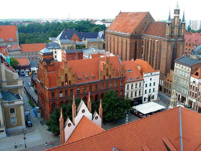 Город Торунь Польша