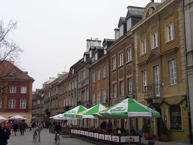 Погода в Варшаве в апреле