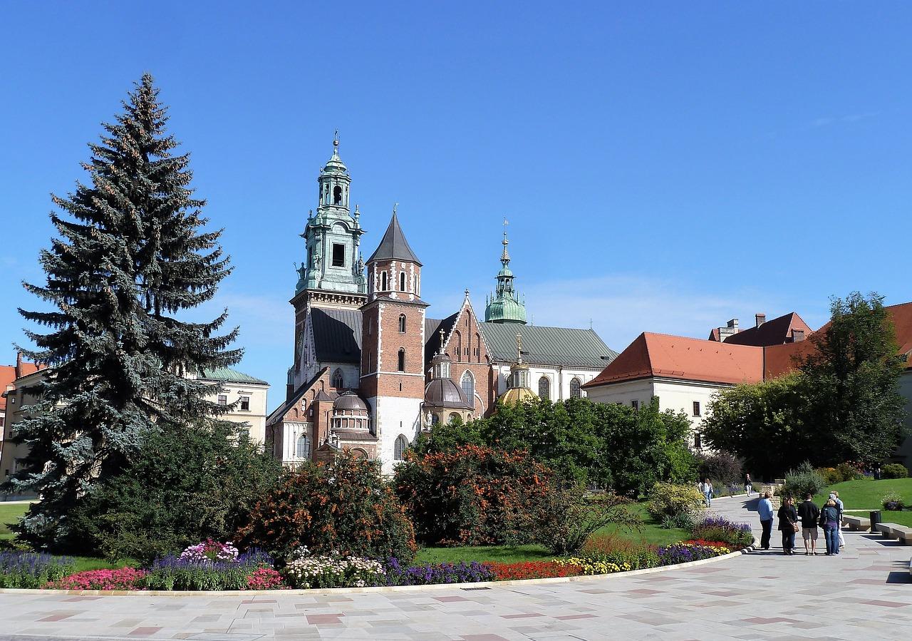 Город Краков (Krakow) в Польше