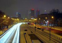 Погода в Варшаве в декабре